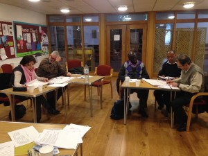 HFRF board reviewing and creating business strategy